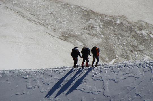 Mont-Blanc : plus d'un alpiniste sur trois se \