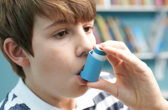 Obésité : un risque augmenté chez les enfants asthmatiques