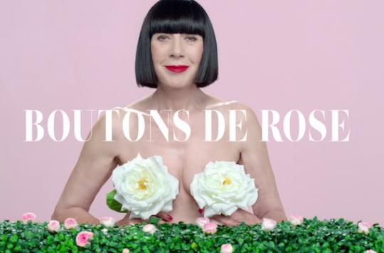 Cancer du sein : la campagne décalée du monde de la mode