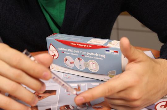 Le premier autotest VIH commercialisé fin juin en France