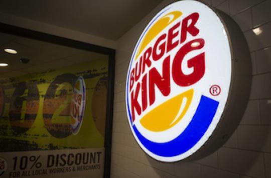 Fast-food : Burger King entre dans la course à la diététique