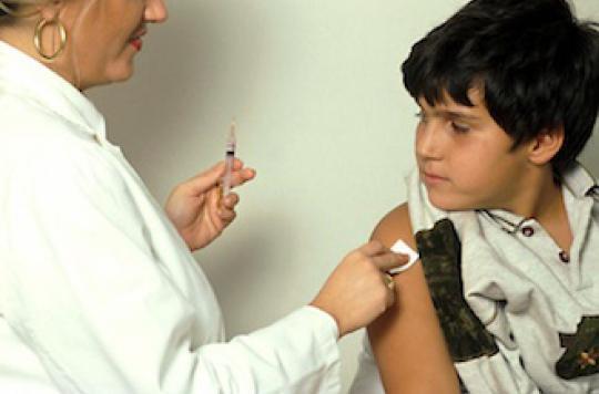 Grippe : éviter 1 mort sur 4 en vaccinant les enfants