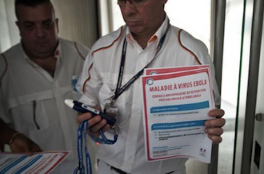 Ebola : comment se déroulent les contrôles à Roissy