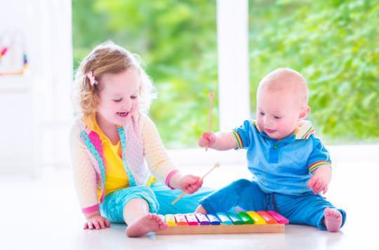La musique apprend aux bébés à reconnaître les rythmes