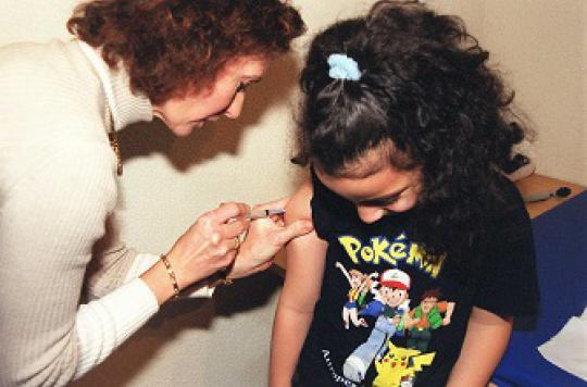 Méningite C : moins d'un Breton sur deux est vacciné