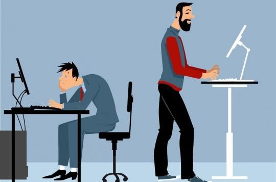 Sédentarité : travailler debout n'est pas la solution