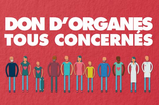Don d'organes : le registre du refus s'ouvre en ligne