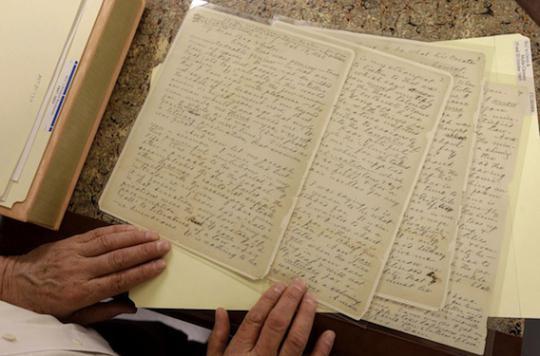 Lire les lettres d'amour de ses parents