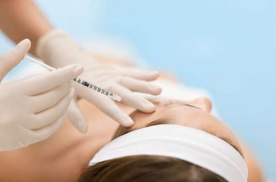Médecine esthétique : l'acide hyaluronique augmente l'efficacité du Botox