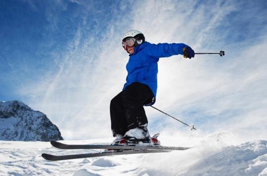 Sports d'hiver : les fractures du crâne sont fréquentes chez les jeunes enfants