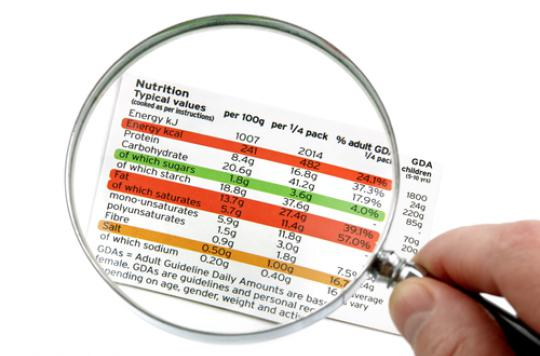 Logos nutritionnels : l'Anses pas convaincue par l'impact sur la santé