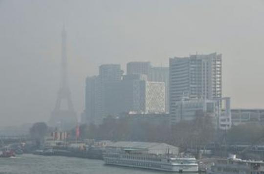 Pollution : l'Ile-de-France et la Normandie en état d'alerte