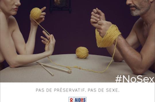 Sida : AIDES choisit l'humour pour promouvoir le préservatif