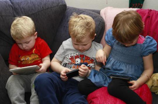 L'apprentissage du vocabulaire retardé par les tablettes