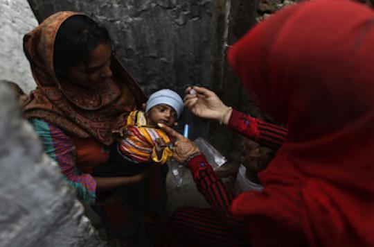 Polio : Médecins Sans Frontières dénonce l'éradication à tout prix