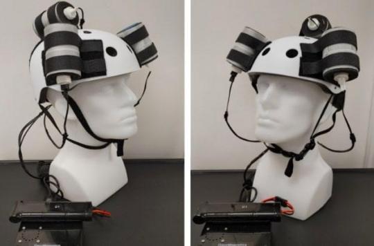 Ce casque révolutionnaire a nettement diminué une tumeur cérébrale