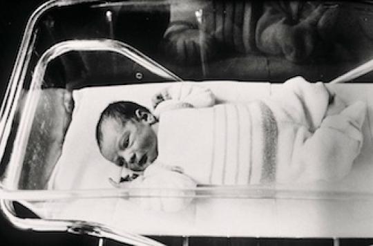 Le premier bébé-éprouvette français est maman