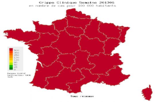 La grippe sévit sur toute la France