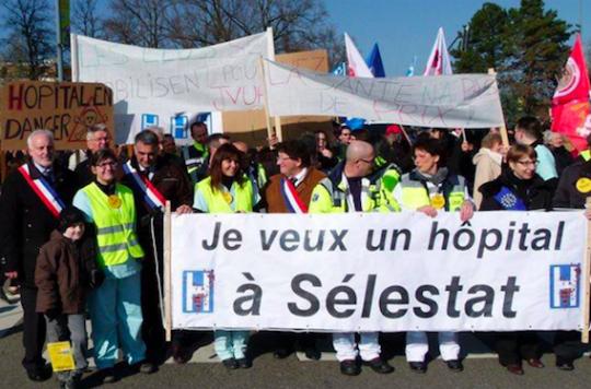 Sélestat : une association se bat pour sauver l'hôpital
