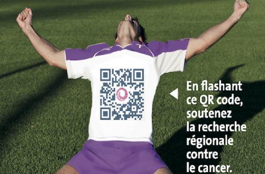 Toulouse : les footballeurs du TFC soutiennent la lutte contre le cancer