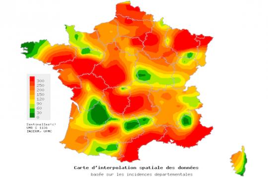 Gastro-entérite : la Lorraine est la région la plus affectée