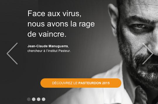 Pasteurdon 2015 : quatre bonnes raisons de donner