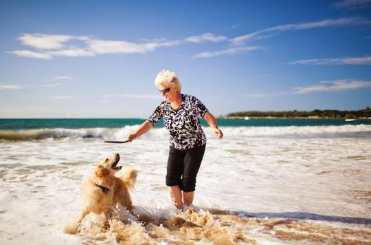 Seniors : avoir un chien permet de lutter contre la sédentarité