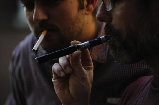 Cigarette électronique :  95 % moins nocive que le tabac
