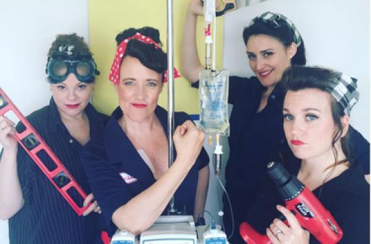 Cancer du côlon : elle met en scène ses chimio pour lever le tabou