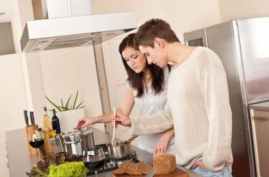 Vie de couple : 2 kg de plus sur la balance en moyenne