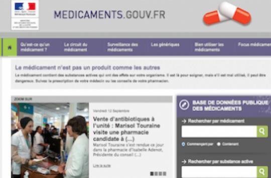 Médicament : 900 000 visites sur le site officiel