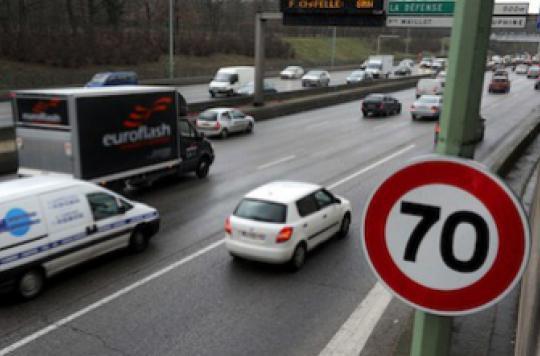 Périph à 70 km/h : bilan positif pour la santé des Parisiens