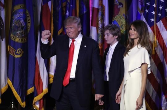 Reclus dans la Trump Tower, Donald se fait plus docile