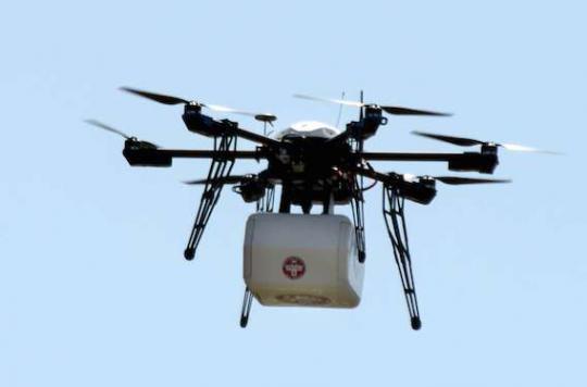 Drones : ils pourraient faciliter le transport des analyses biologiques