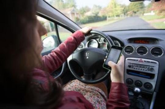 10% du temps passé au volant n'est pas consacré à la conduite