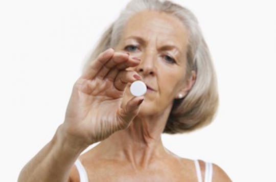 L\'aspirine diminue le risque de mélanome à la ménopause
