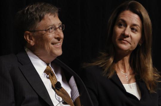 Une distinction médicale pour Bill et Melinda Gates