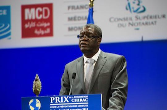 Le Dr Denis Mukwege, le médecin de femmes violées, distingué