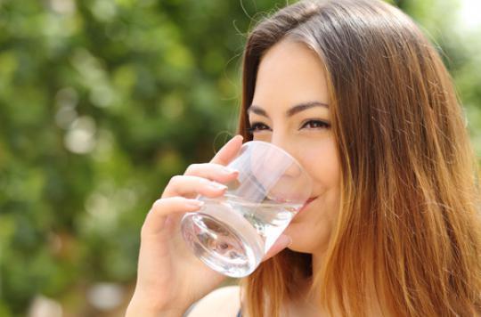 Les obèses ne boivent pas assez d'eau