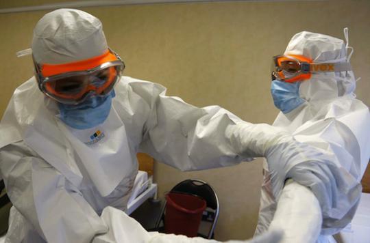Ebola : le virus détecté dans l'oeil d'un ancien malade