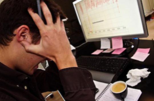 Burn-out : près de 2 salariés sur 10 menacés par l'épuisement professionnel