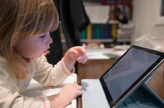 Le temps passé devant l'écran peut affecter les capacités d'autorégulation des enfants