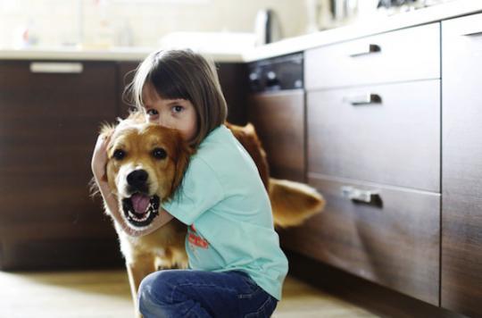 Un chien à la maison réduit le stress des enfants