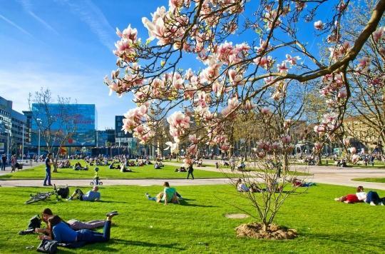 Les espaces verts font le bien-être des citadins