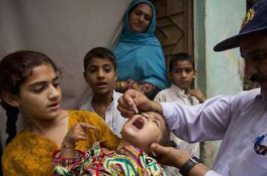 Etat d'urgence sur la polio : le Pakistan prend des mesures
