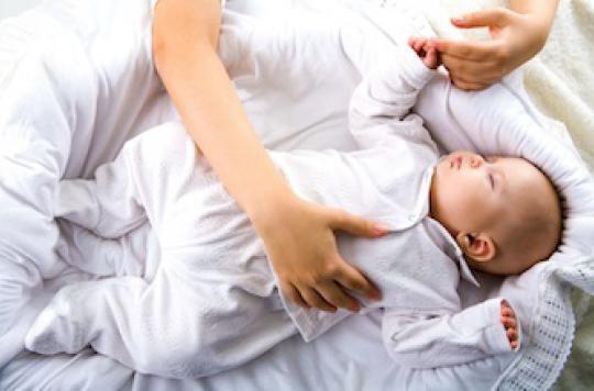 L'angoisse de la jeune maman peut révéler des TOC