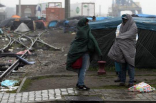 En France, un migrant sur deux ne mange pas à sa faim