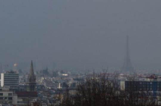 Pollution de l'air : 9 citadins sur 10 y sont exposés