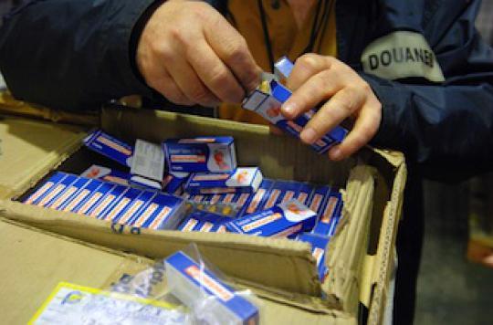 Médicaments contrefaits : en tête des saisies