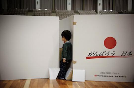 Fukushima : 25 % des enfants du tsunami sont traumatisés